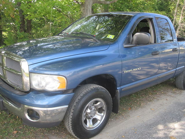 2002 Dodge Ram 1500 4x4 Quad Cab e Owner W air 4 7ltr