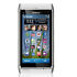 Mobile Phone: Nokia N8 - 16 GB - Silver white (Orange) Smartphone