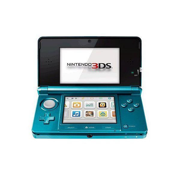 Système Portable Nintendo 3DS Bleu Lagon