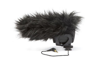 RODE-VideoMic-Pro-Shotgun-Mic-with-DeadCat-Wind-Fuzzy