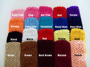 Lot-of-12-3-Crochet-Headbands-U-Pick-Colors