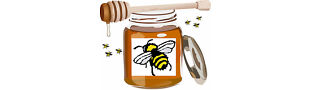 Bizzybees Honey Pot
