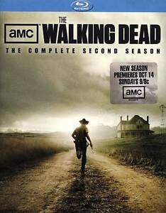 The Walking Dead The Complete Second Season Blu-ray Disc, 2012, 4-Disc Set  - $10.00