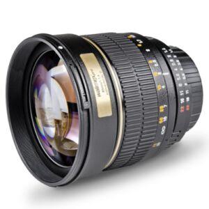 Walimex Pro 85 mm f/1.4 IF MF Objektiv für Canon - NEU -