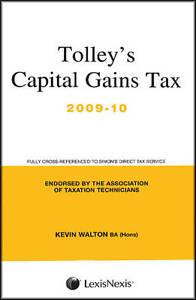 Tolleys-Capital-Gains-Tax-2009-10-Main-Annual-Walton-Kevin-Good-Book