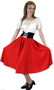 Victorian-Edwardian-OLIVER-Red-NANCY-Costume-all-sizes