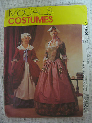 Revolutionary Dress Costume Sewing Pattern Larp Womens