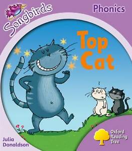 Oxford-Reading-Tree-Stage-1-Songbirds-Top-Cat-by-Julia-Donaldson-Clare