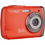 VistaQuest VQ-8920 8.0 MP Digital Camera - Red