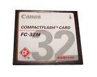 32MB CompactFlash Camera Memory Cards