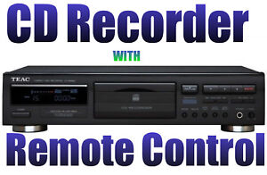 TEAC CD-RW890 CD Recorder and Player Record CD-R /CD-RW
