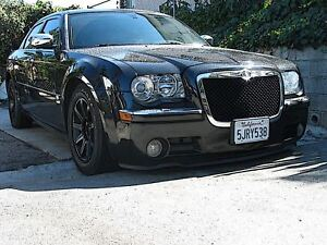 chrysler 300 front chin lip spoiler splitter edge trim. Black Bedroom Furniture Sets. Home Design Ideas