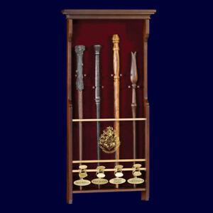 Harry - potter - pr - é sentoir wandgemälde pour 4 baguettes magiques 013975