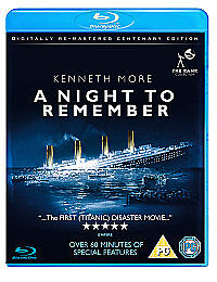 A Night To Remember Bluray FIRST TITANIC DISASTER MOVIE Remastered 1p - <span itemprop=availableAtOrFrom>Manchester, United Kingdom</span> - A Night To Remember Bluray FIRST TITANIC DISASTER MOVIE Remastered 1p - Manchester, United Kingdom