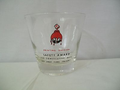 Sherwin Williams Paint Co  Safety Award Glass  D418