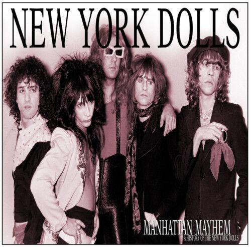 NEW YORK DOLLS 'Manhattan Mayhem' history of; sealed 2xCD Johnny Thunders