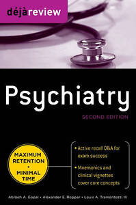 Deja Review Psychiatry, 2nd Edition, Gopal, Abilash A.