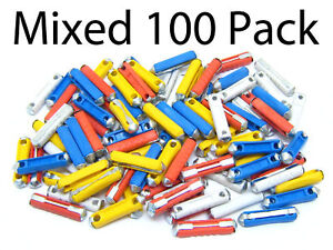 100 x MIXED CONTINENTAL TORPEDO CERAMIC FUSES CAR AUTO