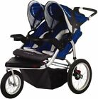 Pacific Cycle Schwinn Turismo Blue/Gray Jogger Double Seat Stroller