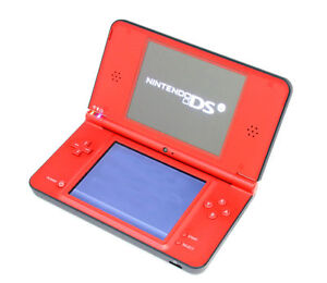 Nintendo DSi XL 25th Anniversary Edition with New Mario Bros. Red Handheld Syste
