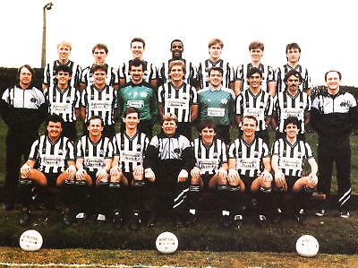 NEWCASTLE UNITED FOOTBALL TEAM PHOTO 1986-87 SEASON
