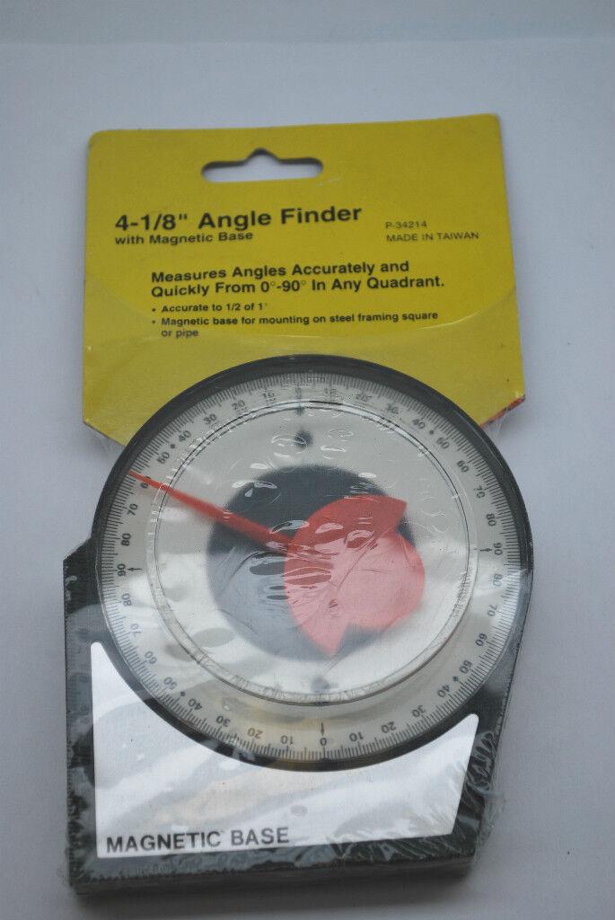 4 Angle Level Finder Satellite Dish Inclinometer Tool