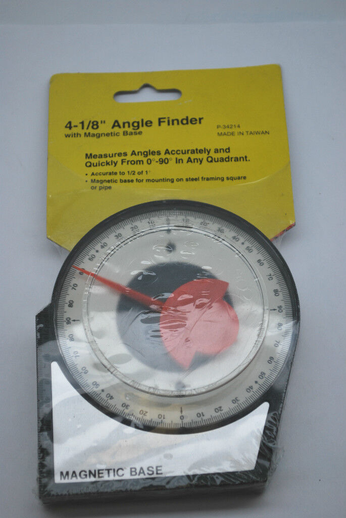 4 Angle Level Finder Satellite Dish Inclinometer Tool