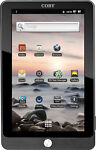 Coby Kyros MID7016, Wi-Fi, 7in - Black