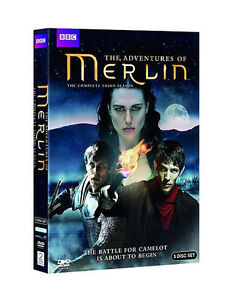 Merlin The Complete Third Season DVD 2012 5Disc Set - North Hollywood, California, United States - Merlin The Complete Third Season DVD 2012 5Disc Set - North Hollywood, California, United States
