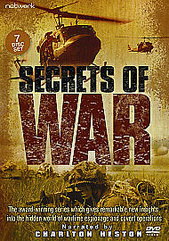 Secrets Of War ---- 7-Disc DVD Boxset - From The Great War To The Gulf War