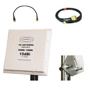 Mobile Broadband Antenna Huawei Aerial Booster 3G TS9 E5332 E5756 E586E 2100Mhz