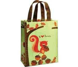 LUNCH-box-BAG-sandwich-Blue-Q-Tote-Bag-purse-SQUIRREL