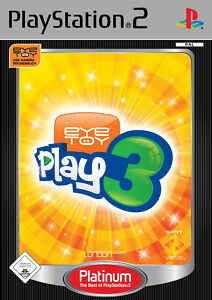 EyeToy: Play 3 Platinum PS2 Playstation 2