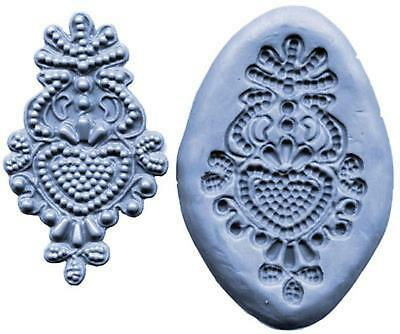 Lace Maker Silicone Mold Bead Medallion Ck Cake Decorating Fondant Usa Made