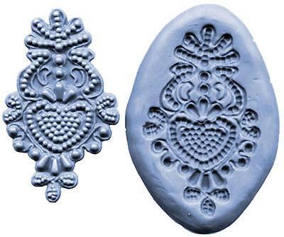 Lace Maker Silicone Mold Bead Medallion Ck Cake Decorating Fondant Usa Made