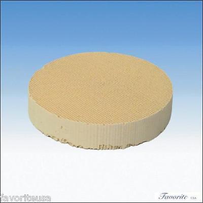 Ceramic Honeycomb Round Soldering Block 4-1/2dia X1 High Temperature 6000 F