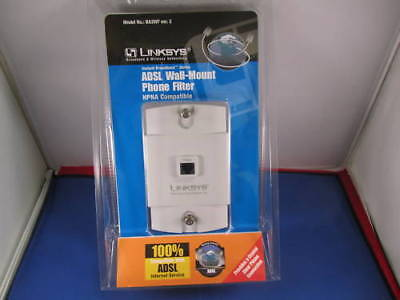 Linksys Adsl Wall-mount Phone Filter Ba2wf.
