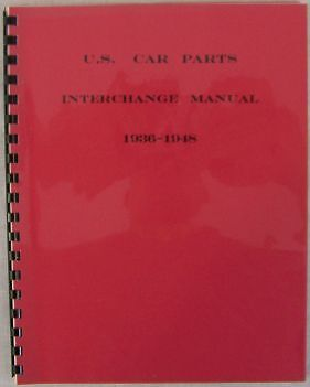 Pontiac Interchange Parts 1941 1942 1946 1947 1948