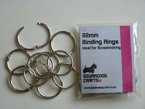 32mm-METAL-BINDING-RINGS-10-PK-GOOD-FOR-BINDING-AND-SCRAPBOOKING