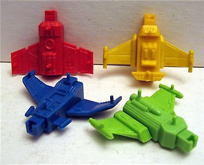 10 Shooting Spaceship Plane Charm Vending Machine Toy