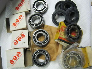 Suzuki-GT380-nos-main-bearing-seal-set-1972-1977