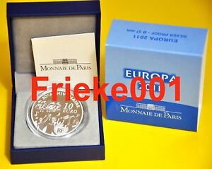 Frankrijk-France-10-euro-2011-Proof-Europa