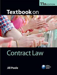 Textbook on Contract Law by Jill Poole Paperback 2012 - Enfield, United Kingdom - Textbook on Contract Law by Jill Poole Paperback 2012 - Enfield, United Kingdom