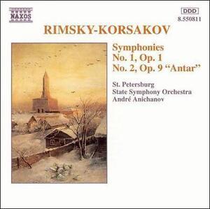 "Rimsky-Korsakov: Symphonies No. 1 & No. 2 ""Antar"", , Very Good CD"
