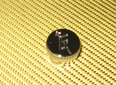 GRETSCH NICKEL G ARROW GUITAR KNOBS KNOB METRIC on Rummage