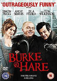 BURKE amp HARE DVD SIMON PEGG ANDY SERKIS ISLA FISHER JOHN LANDIS - <span itemprop=availableAtOrFrom>Edinburgh, United Kingdom</span> - BURKE amp HARE DVD SIMON PEGG ANDY SERKIS ISLA FISHER JOHN LANDIS - Edinburgh, United Kingdom