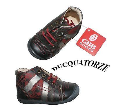 Neuf Superbes Chaussures Cuir + Gbb + 18