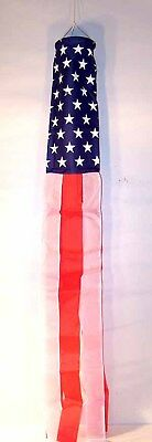 American Flag Windsock Wind Socks Boats Chimes Flags Flying 60 Inch Sock