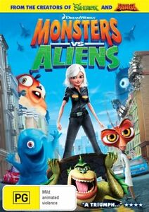 MONSTERS VS. ALIENS = NEW+SEALED Dreamworks R4 DVD