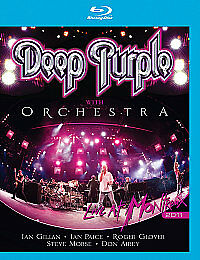 Deep Purple - Live At Montreux 2011 (Blu-ray, 2011)  NEW Region Free